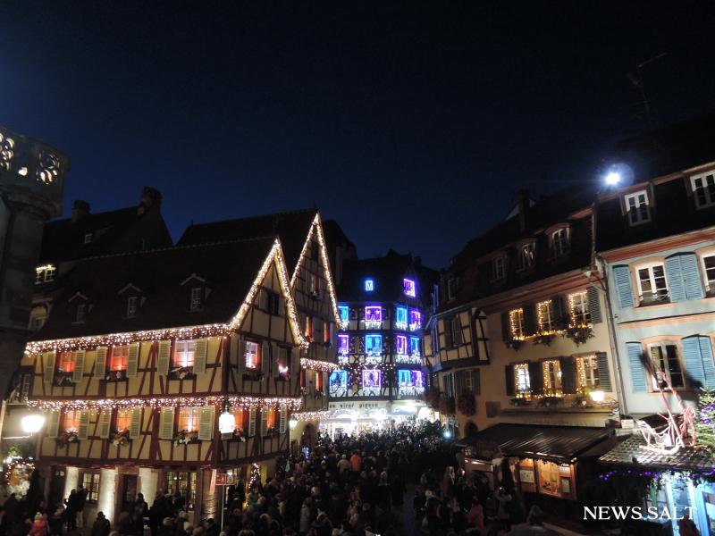 欧州クリスマスマーケット便り(4)フランス・コルマール