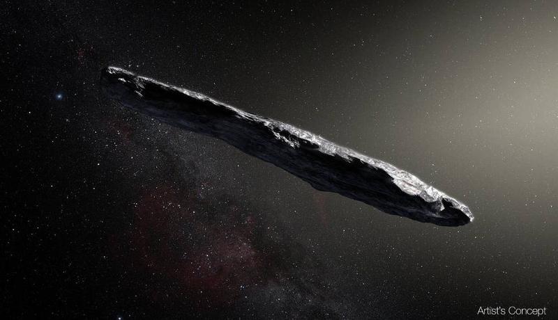 異星人の宇宙船?今のところ「オウムアムア」から意味ある電波信号は検出されず