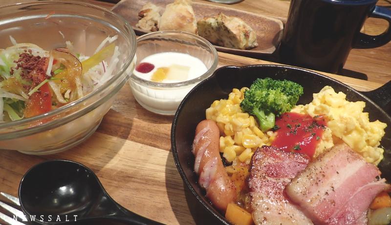 熱々スープと焼きたてパン食べ放題 鹿児島天文館のカフェ「Backen」