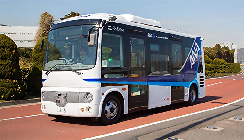 空港での自動運転バス導入へ ANA・ソフトバンク羽田空港で実験開始