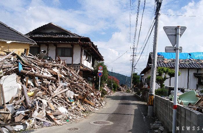 熊本地震から2年 いまだに約4万人が仮設住宅暮らし