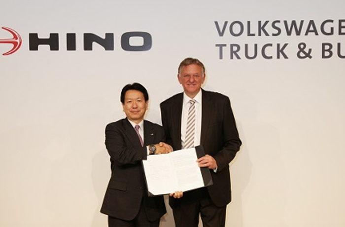 日野自動車と独フォルクスワーゲン、トラック・バス分野で協力合意