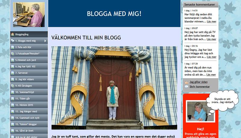 世界最高齢ブロガー、106歳の誕生日 スウェーデン