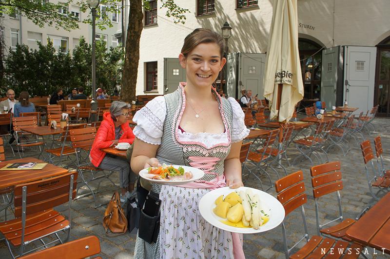 白アスパラガスとドイツの初夏の楽しみ方(アウグスブルク)