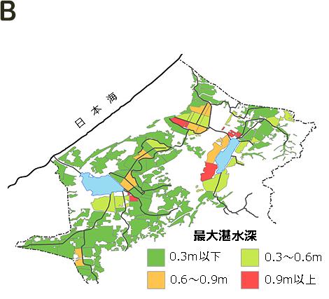 豪雨のシミュレーション手法を開発 水稲減収リスク軽減に期待