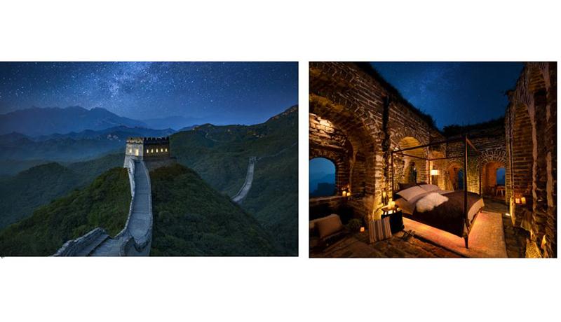 万里の長城に泊まれる! Airbnbが抽選企画