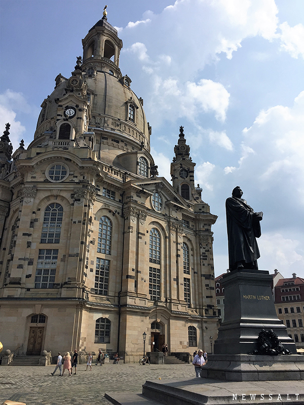 ドレスデンに帰ってきたバウムクーヘンの老舗 ~ドイツ街めぐり・食めぐり(6)