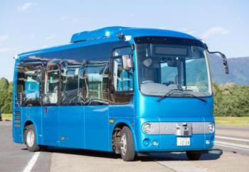 自動運転バス実験、江ノ島で 小田急と神奈川県