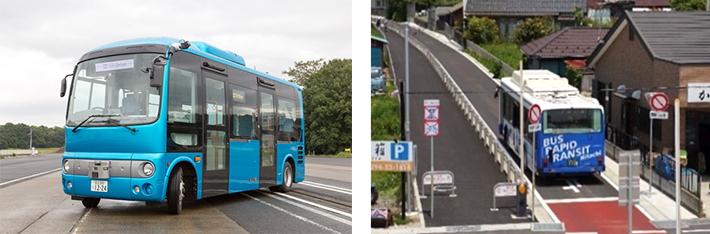 産総研、日立市において自動運転バスの実証実験