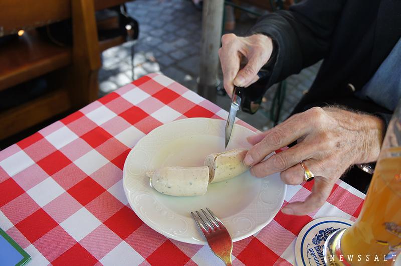 「バイエルンの朝食」という名の白ソーセージ ~ドイツ街めぐり・食めぐり(7)