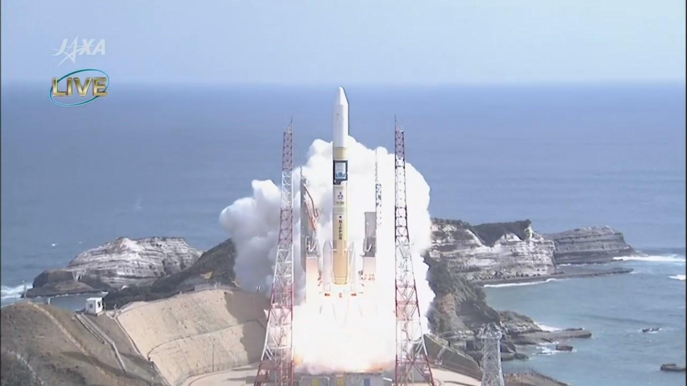H- IIAロケット40号機、「いぶき2号」と「ハリーファサット」の打上げに成功