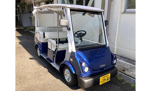 交通難民対策にゴルフカートを活用 京急と横浜市が実証実験開始