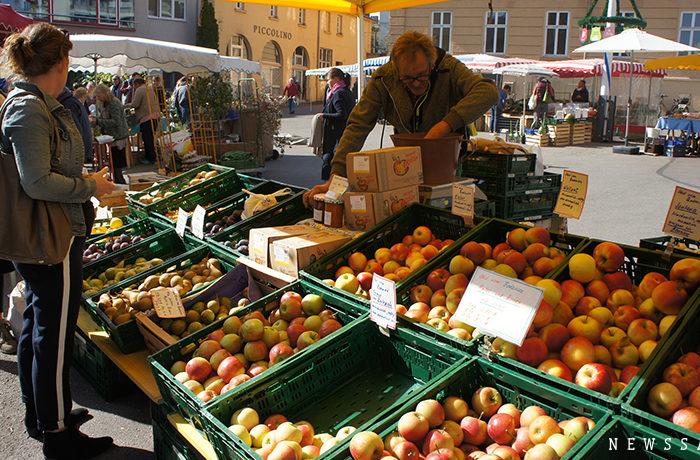 実りの秋にリンゴを味わうなら…(アウグスブルク)~ドイツ街めぐり・食めぐり(10)