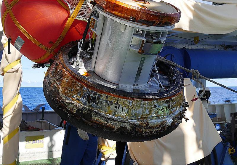 日本初、国際宇宙ステーションから物資回収技術を獲得