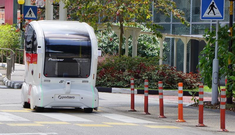パイオニア、シンガポールで自動運転向けLiDARセンサーの実証実験