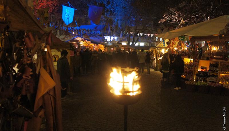 本格派の中世風マーケット(エスリンゲン)