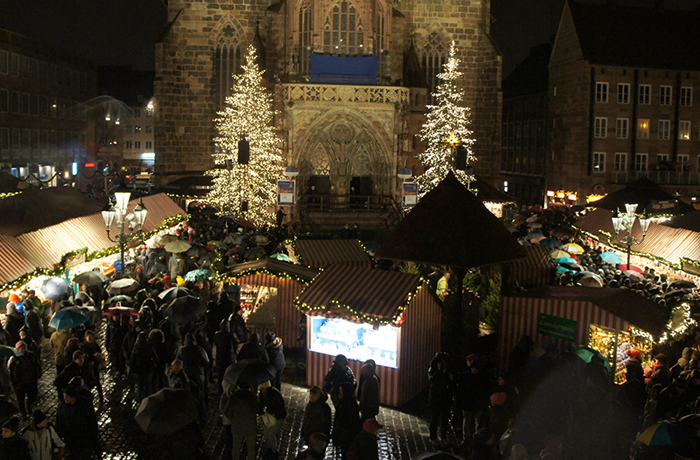 ドイツ クリスマスマーケットめぐり 2018(1) 待降節の始まりを告げる日(ニュルンベルク)