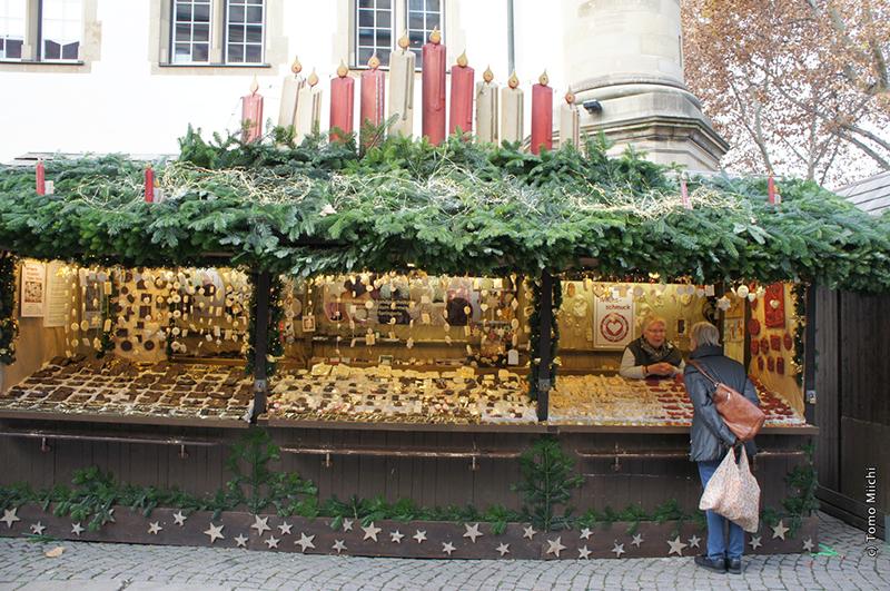 ドイツ クリスマスマーケットめぐり 2018(3) 「最も美しい屋台」を競う(シュトゥットガルト)
