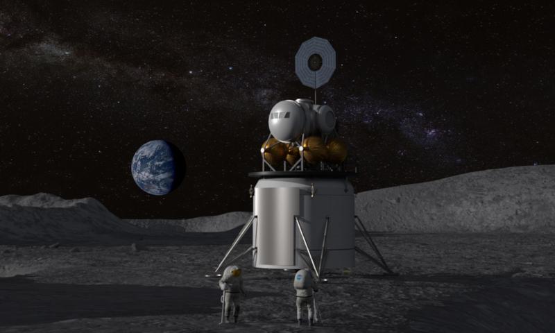 NASA、月面に宇宙飛行士を送る再使用可能なシステム開発へ