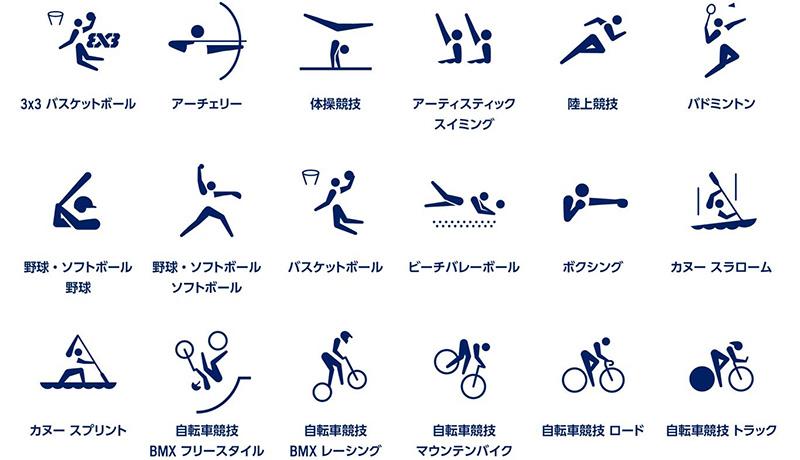 東京五輪開催まで500日 競技種目のスポーツピトグラムを発表