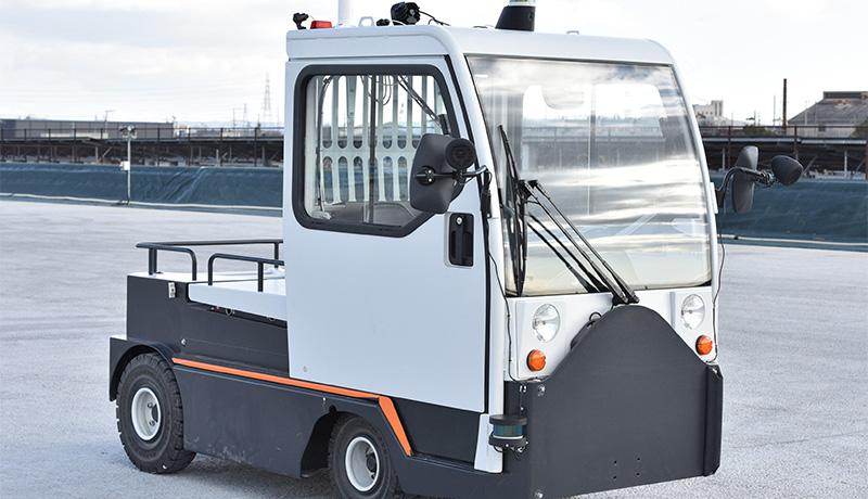 佐賀空港で国内初のトーイングトラクターの自動走行テスト実施 ANA