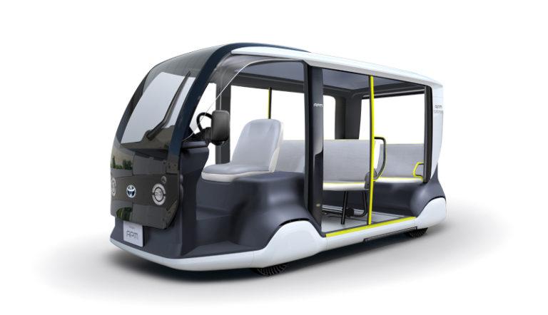 トヨタが東京2020オリパラ大会専用モビリティを開発