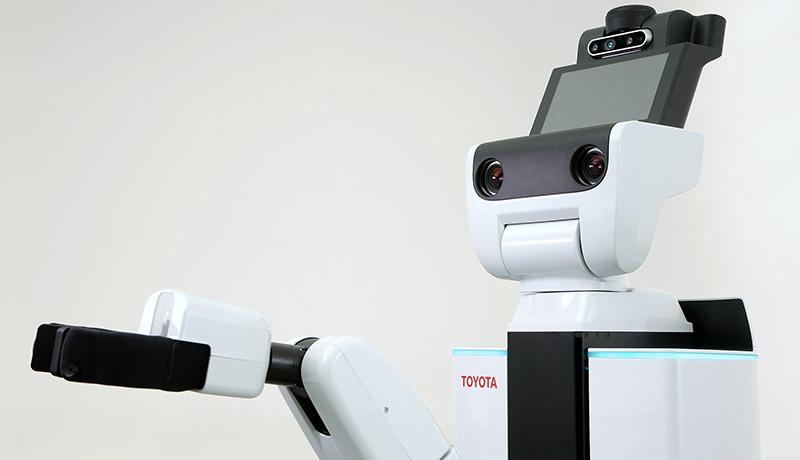 トヨタ、AIスタートアップと生活支援ロボットの共同研究