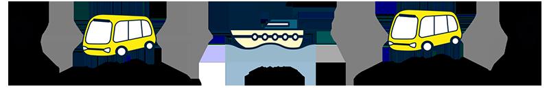 水陸連携MaaS 電通などが都内で実証実験