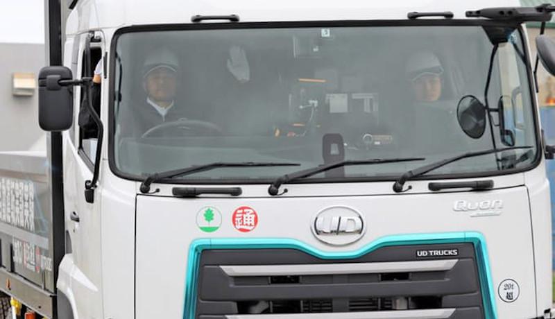 UDトラックス、国内初公道でのレベル4自動運転実証実験を公開