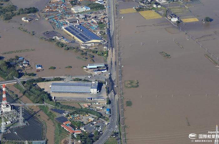 「早期復旧に役立てて」 台風19号後の災害調査用航空写真を公開 国際航業
