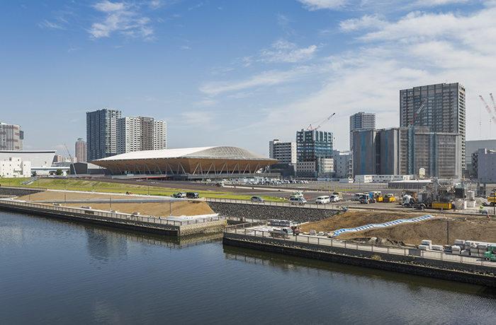 TOKYO2020 「和」を表現した競技場が続々完成