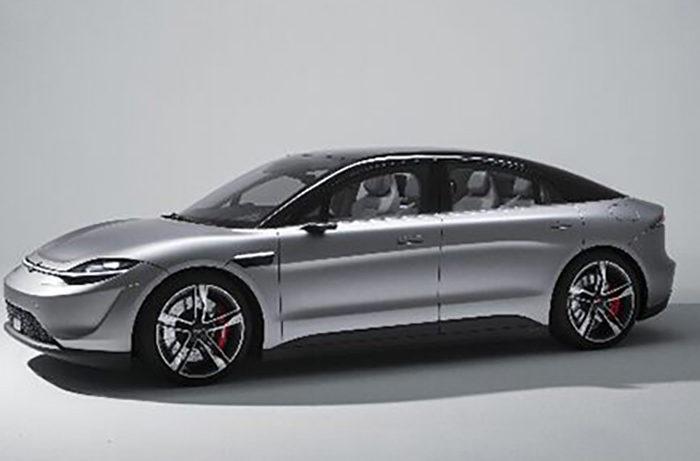 ソニーがCESで自社開発の電気自動車コンセプトモデルを発表