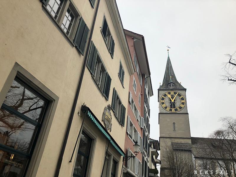 乗り継ぎ観光をやってみた 3時間で楽しめるチューリッヒ