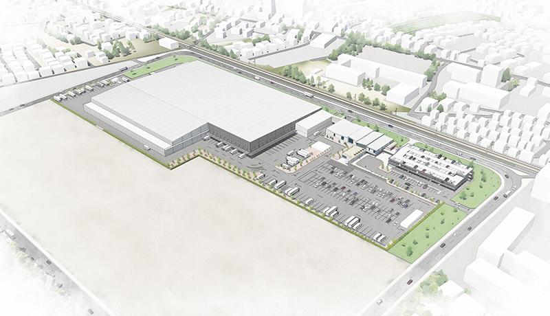 イオン、ネットスーパー事業の本格稼働を目指し大型自動倉庫建設に着手