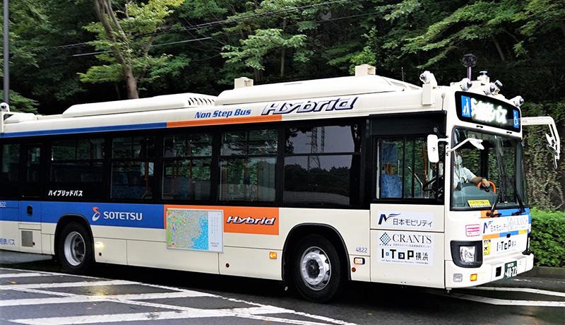 国内初、遠隔監視・操作による大型バスの自動運転を営業運行で実施