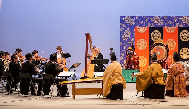 雅楽とオーケストラの共演をVRで KDDIと国立劇場が新たな文化発信に挑戦
