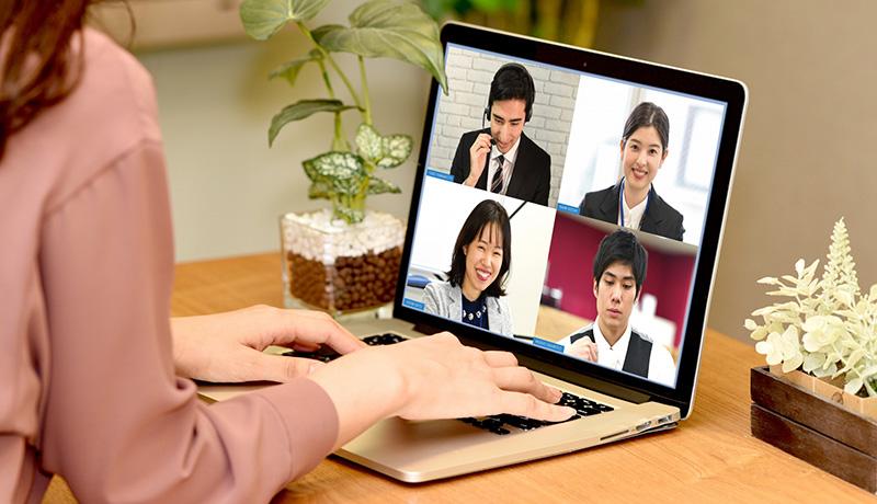 Web会議でも視線を合わせて会話できる仮想カメラ 特許取得