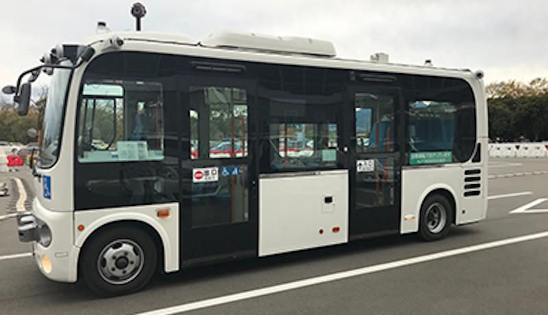 前橋市で5G技術活用自動運転バスの公道実証実験を実施 NEC、群馬大学など