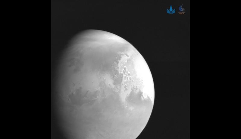 中国の火星探査機「天問1号」、10日頃に火星接近